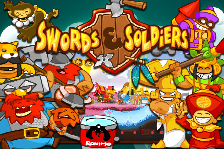 Swords & Soldiers – Giochiamo con il celebre strategico 2D su Switch
