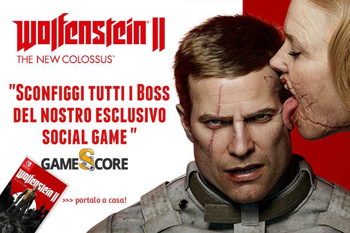 Wolfenstein II: The New Colossus – sconfiggi i Boss nel nostro social game