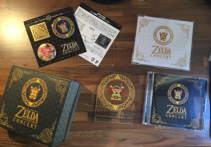 Zelda 30th Anniversary collection