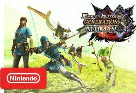 Monster Hunter Generations Ultimate: caccia nei panni di Link versione Breath of the Wild!