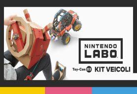 Nintendo Labo: annunciato il kit veicoli, in uscita il 14 settembre su Nintendo Switch!