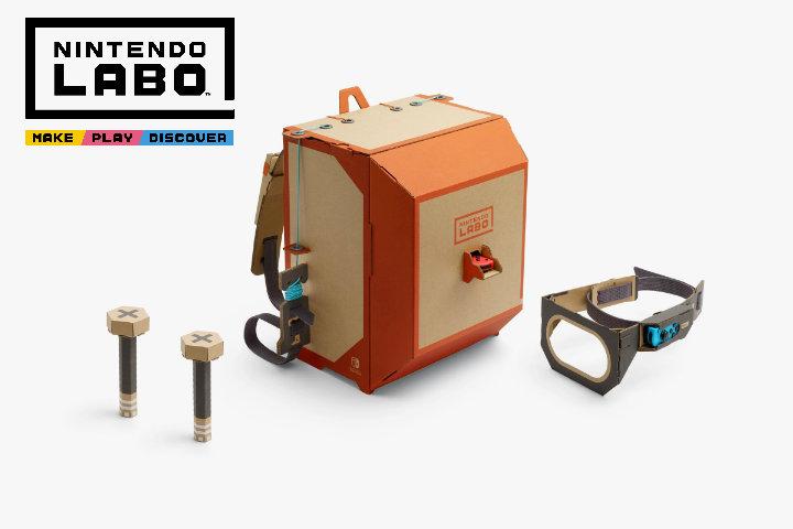 Nintendo Labo: montiamo, indossiamo e proviamo il kit robot!