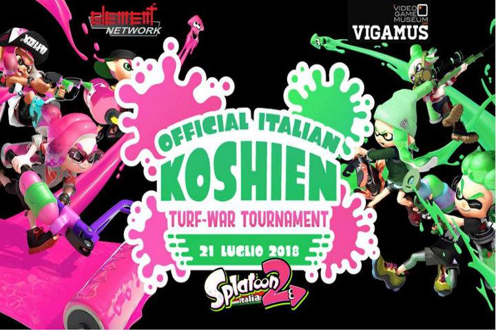Splatoon 2: il primo Koshien Italiano si terrà il 21 luglio a Roma!