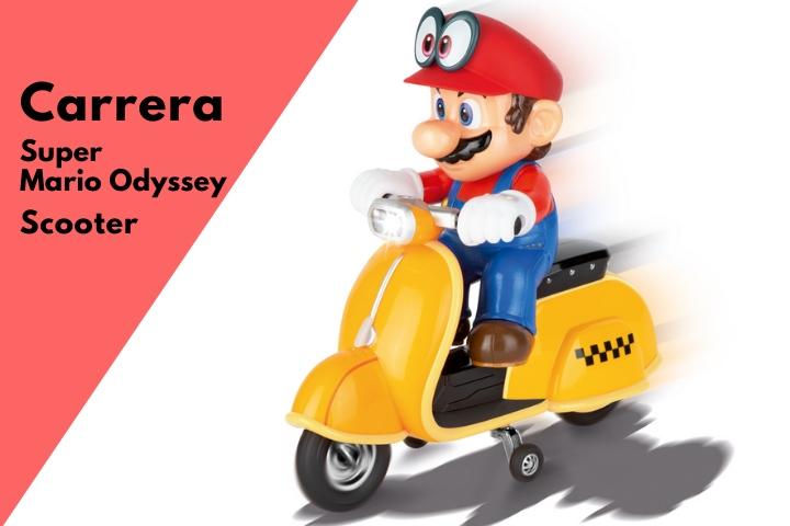 Carrera RC 2.4GHz Super Mario Odyssey Scooter – Recensione