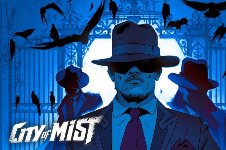 """Il GDR noir """"City of Mist"""" arriva domani!"""
