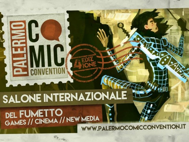 GameScore sarà presente al Palermo Comic Convention!