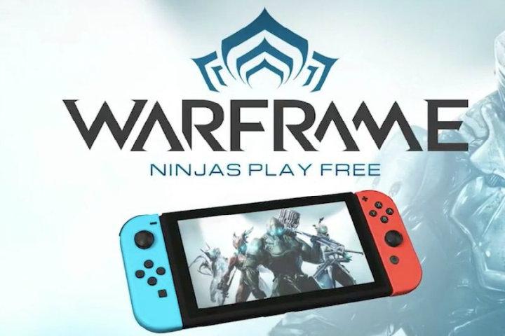 Warframe annunciato per Nintendo Switch! Panic Button si occuperà del porting