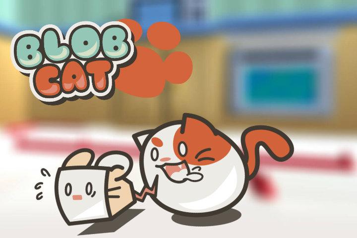 Il puzzle BlobCat rotolerà miagolando il 9 agosto su Nintendo Switch!