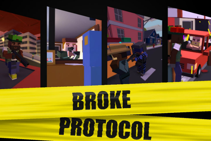 Broke Protocol – The Best Online City Life RPG gratis su Steam