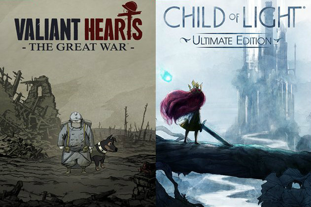 Child of Light e Valiant Hearts saranno disponibili questo autunno su Nintendo Switch