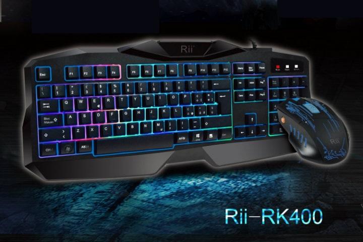 Rii Gaming RK400: kit tastiera + mouse – Recensione
