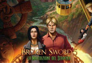 Broken Sword 5 - La Maledizione del Serpente è uscito oggi, 21 settembre, su Nintendo Switch!