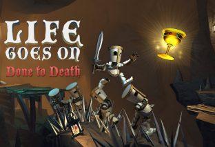 Il puzzle platform Life Goes On: Done to Death esce oggi, 20 settembre, su Nintendo Switch!