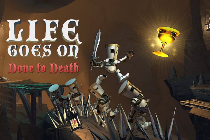Il puzzle platform Life Goes On: Done to Death esce oggi, 20 settembre, su Nintendo Switch!