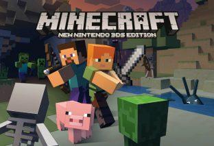 Minecraft: New Nintendo 3DS Edition è arrivato oggi, 20 settembre, in Europa!