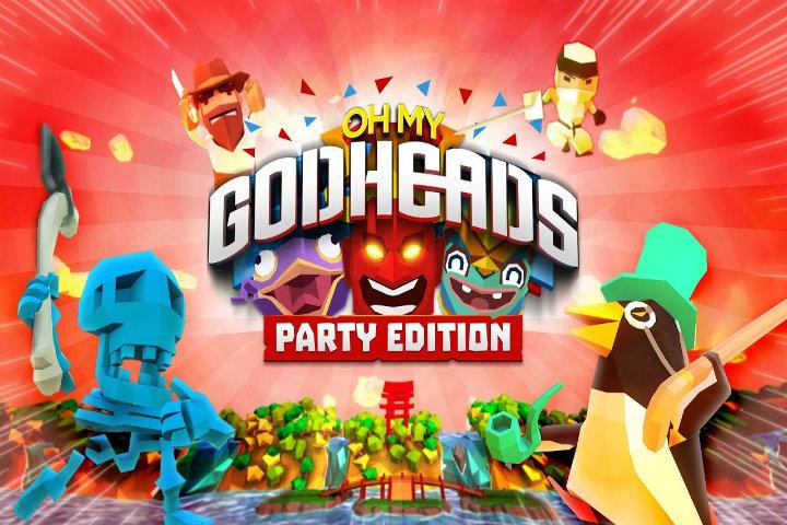 Oh My Godheads: Party Edition caccerà teste il 25 settembre su Nintendo Switch!