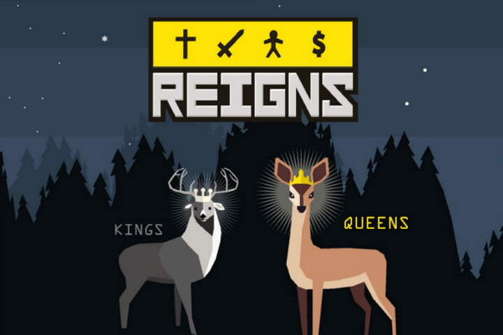 Il card game Reigns: Kings & Queens arriva oggi, 20 settembre, su Nintendo Switch!