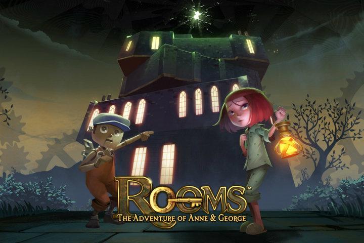Rooms: The Adventure of Anne & George arriva oggi, 26 settembre, su Nintendo Switch!