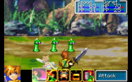 golden sun gameplay 2