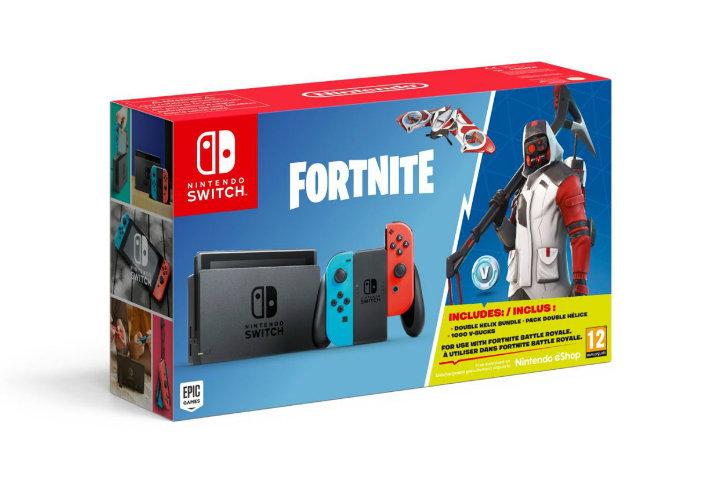 In arrivo un nuovo bundle di Nintendo Switch dedicato a Fortnite!