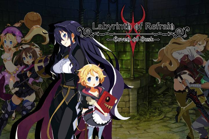 Labyrinth of Refrain: Coven of Dusk è disponibile su Nintendo Switch, PS4 e Pc a partire da oggi!