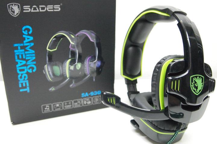 Sades SA 930 Green: le cuffie Gaming super economiche – Recensione