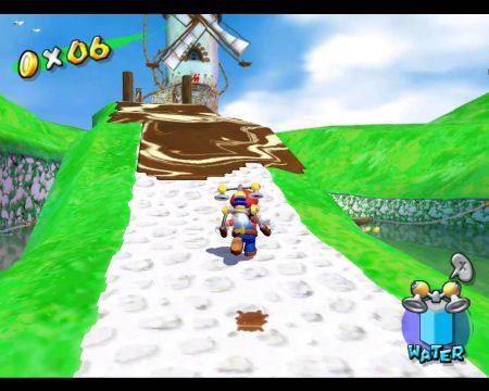 Super Mario Sunshine gameplay