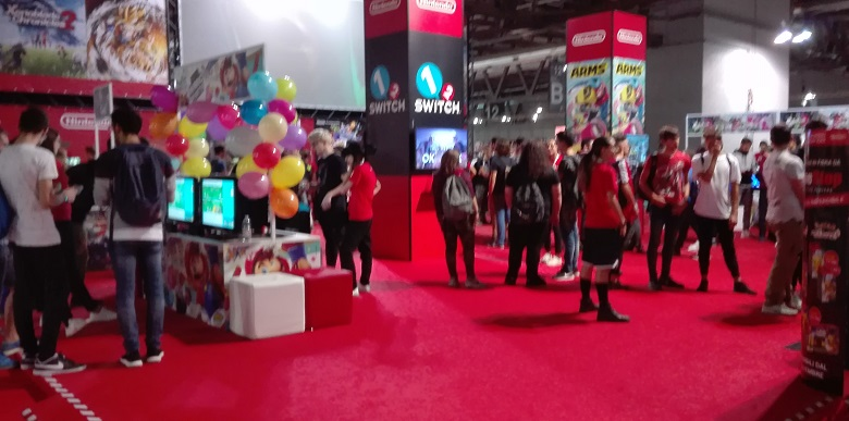 MGW2018 Stand Nintendo