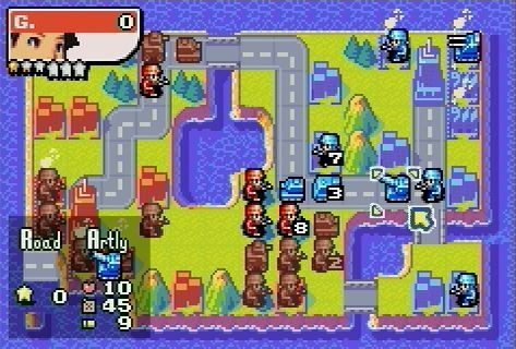 Advance wars 2 maps