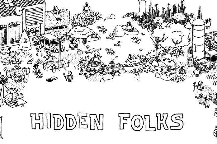 Hidden Folks: cercate gli omini nascosti il prossimo 31 ottobre su Nintendo Switch!