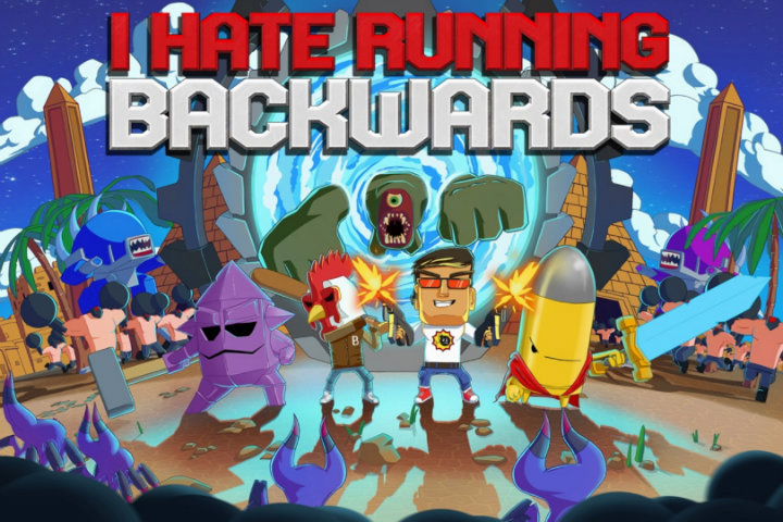 I Hate Running Backwards: lo sparatutto roguelite arriverà il 19 ottobre su Nintendo Switch!