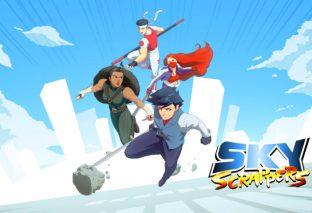 SkyScrappers: il picchiaduro combatterà tra i grattacieli il 29 ottobre su Nintendo Switch!