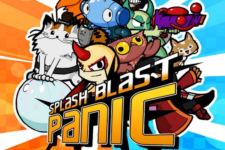 Splash Blast Panic: l'arcade game multigiocatore arriverà il 4 ottobre su Nintendo Switch!