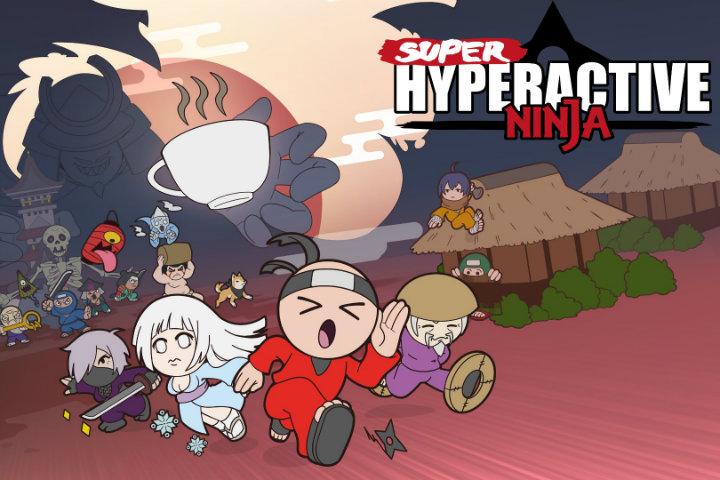 Super Hyperactive Ninja: il platform d'azione avrà bisogno di caffè il 25 ottobre su Nintendo Switch!
