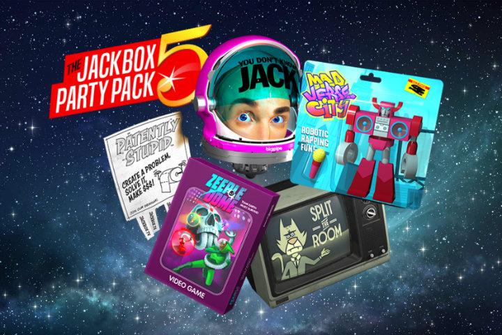 The Jackbox Party Pack 5: il party game divertirà il 17 ottobre su Nintendo Switch!