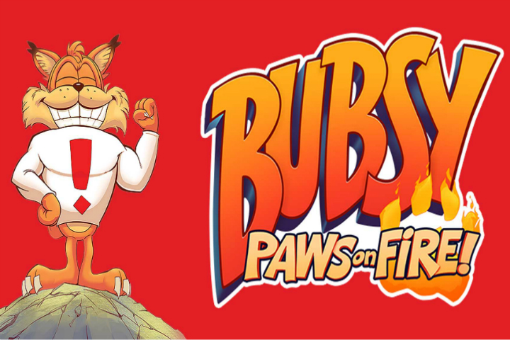 Annunciato Bubsy Paws of Fire per PS4, PC e Switch