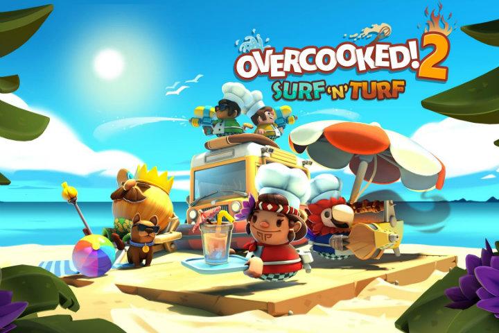 Overcooked 2: Proviamo assieme il nuovo DLC Surf 'n' Turf!