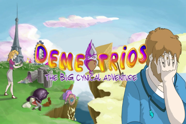 Il punta e clicca Demetrios – The BIG Cynical Adventure arriverà il prossimo 3 dicembre su Nintendo Switch!