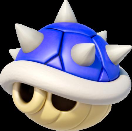 Guscio spinoso Mario kart