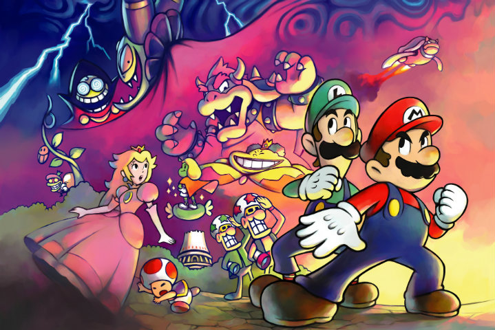 Mario e Luigi: Superstar Saga – Sessantaquattresimo Minuto