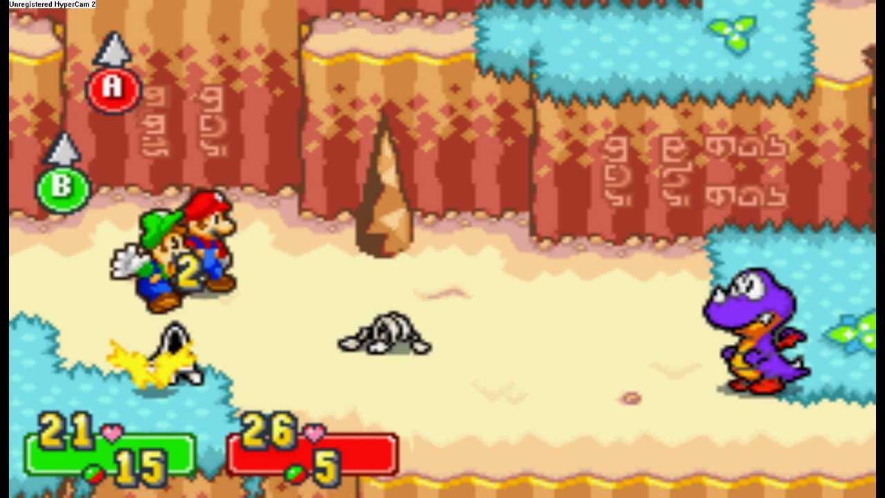 Mario e Luigi Combat system