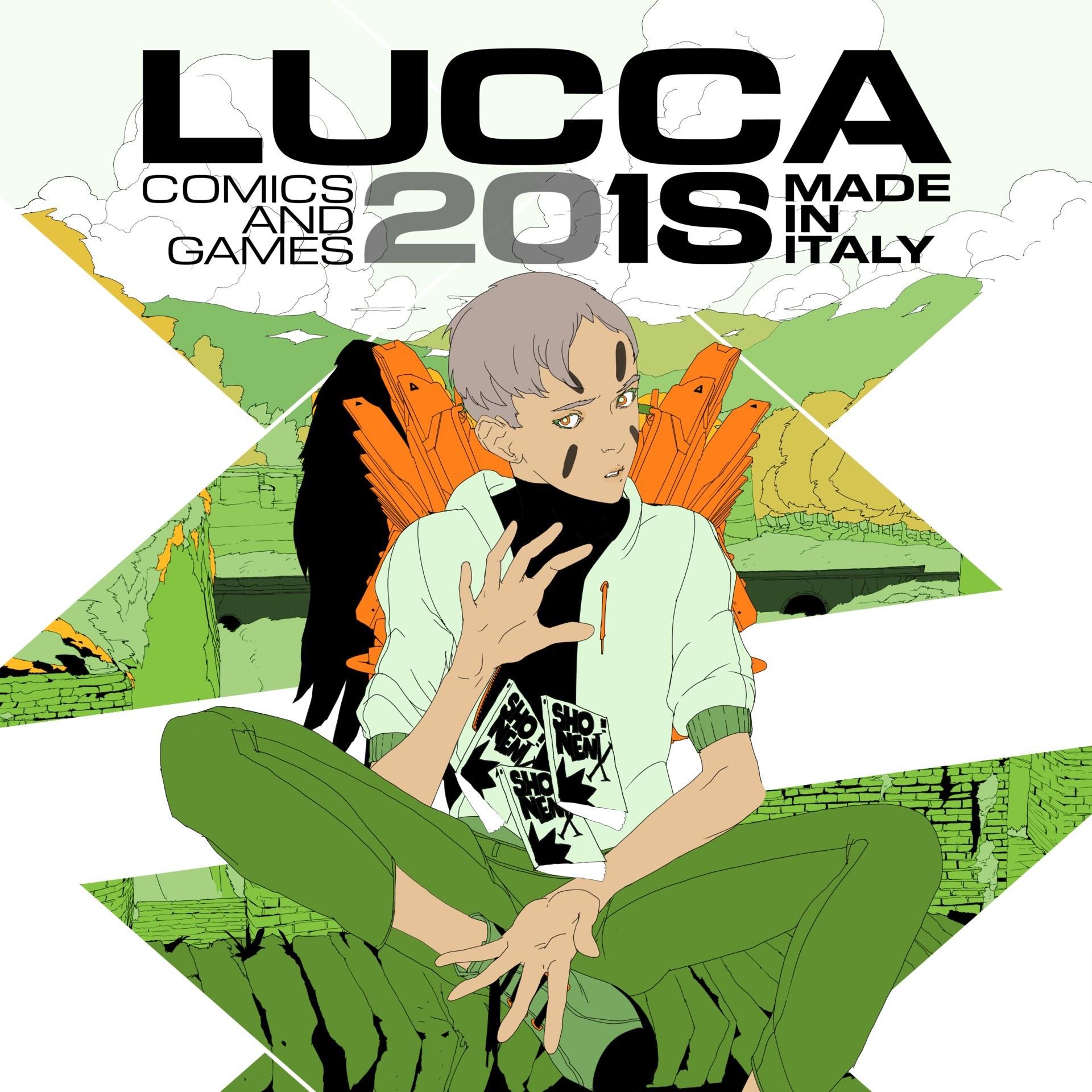 Lucca C&G 2018 Crew
