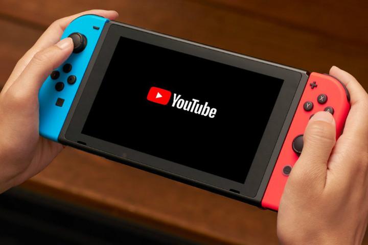 L'app di YouTube arriva su Nintendo Switch!