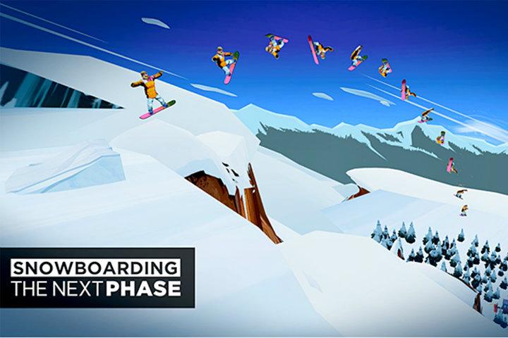 Snowboarding The Next Phase vi porterà sulla neve il 10 gennaio su Nintendo Switch!