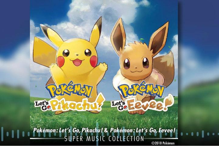 E' arrivata la Super Music Collection di Pokémon Let's Go, Pikachu! e Pokémon Let's Go, Eevee!
