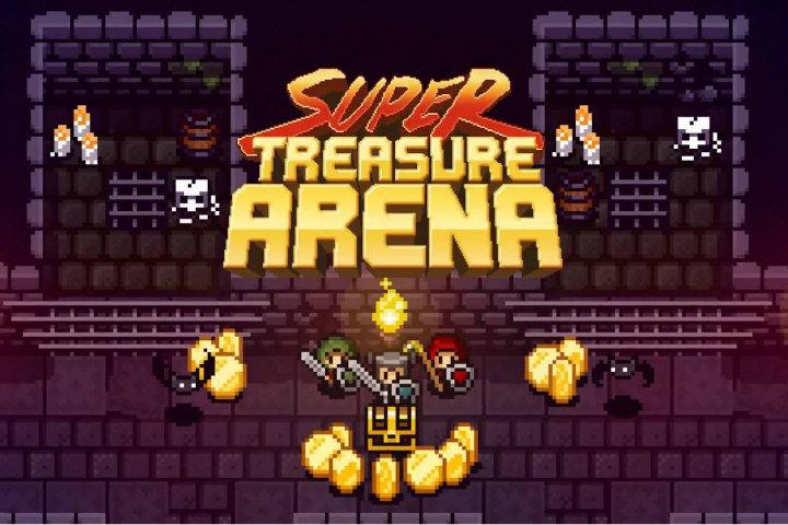 Super Treasure Arena raccoglierà e ruberà monete il 24 dicembre su Nintendo Switch!