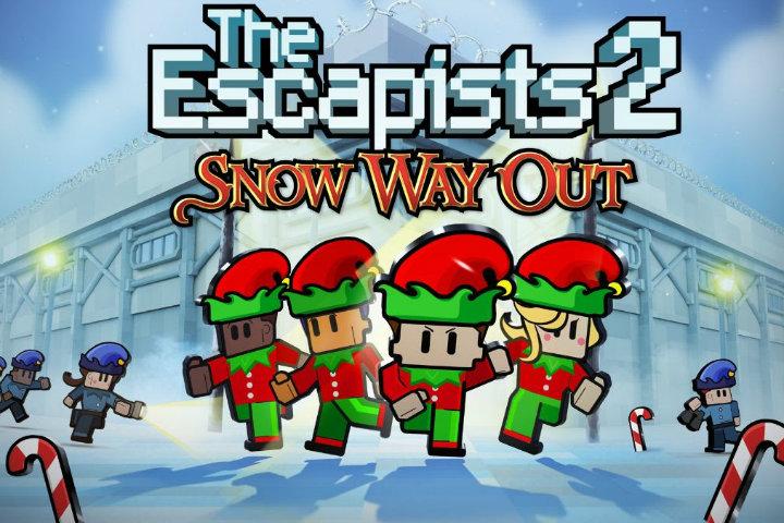 The Escapists 2: è arrivato l'aggiornamento gratuito Snow Way Out!