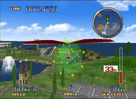 pilotwings 64 deltaplano