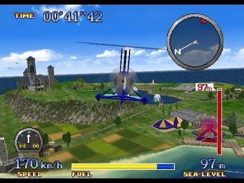 Pilotwings 64 girocottero