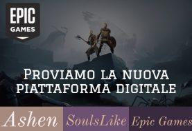 Ashen: giochiamo al nuovo soulslike sulla neonata piattaforma digitale di Epic Games